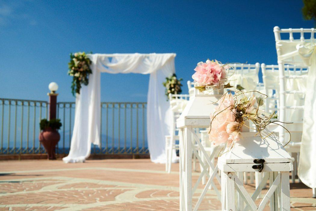 wedding in Zakynthos at Balcony Boutique hotel - venue